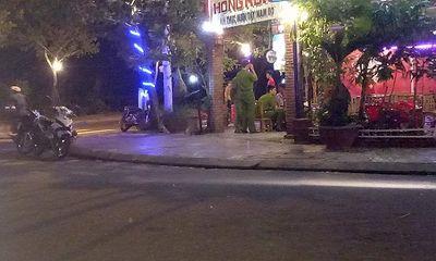 Quảng Nam: Thanh niên đâm chết người trong quán nhậu ra đầu thú