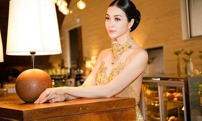 Thanh Mai mặc váy tua rua đính kết 3000 viên đá pha lê