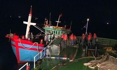 Hải Phòng: Cảnh sát biển cứu thành công 6 ngư dân gặp nạn