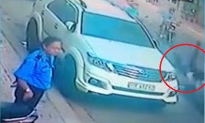 Cô gái bị cướp giật túi xách ngã lăn lộn giữa đường