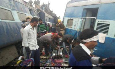 Kinh hoàng tai nạn tàu hỏa ở Ấn Độ, hơn 60 người tử vong