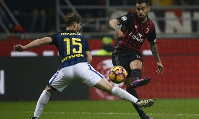 Highlights: AC Milan 2 - 2 Inter Milan (Vòng 13 - Seria )
