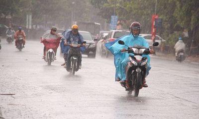 Dự báo thời tiết hôm nay 22/11: Trung - Nam Bộ mưa dông