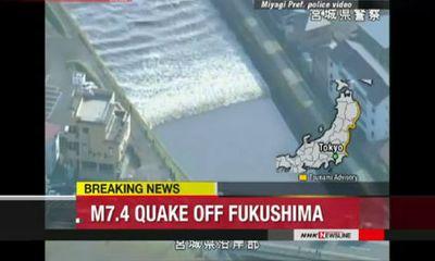 Nhật Bản gỡ bỏ cảnh báo sóng thần sau động đất