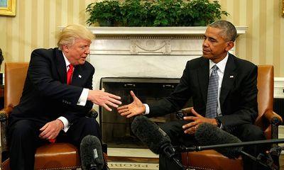 Donald Trump: Tôi rất quý mến Tổng thống Obama