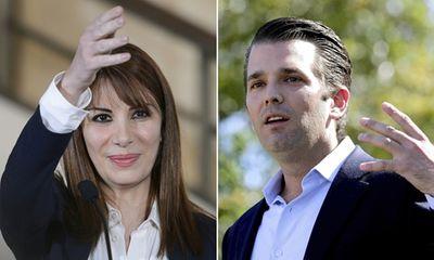 Con trai Trump gặp nữ chính trị gia Syria thân Nga ở Pháp