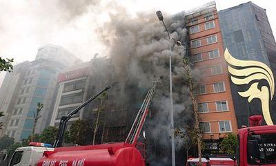 Vụ cháy quán karaoke khiến 13 người chết: Kỷ luật 3 cảnh sát cứu hỏa