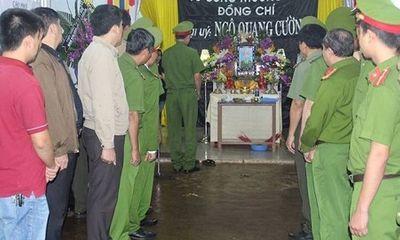 Vụ nổ tại trụ sở Công an Đắk Lắk: Thăng quân hàm cho ba cảnh sát hy sinh