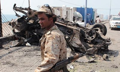 IS đánh bom liều chết tại Yemen, ít nhất 49 binh sĩ thiệt mạng