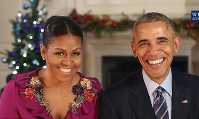 Tổng thống Obama chúc mừng Giáng sinh lần cuối tại Nhà Trắng