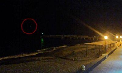 Hình ảnh nghi có thể của máy bay Nga trước khi rơi xuống Biển Đen