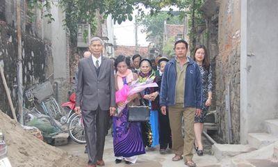 Xôn xao đám cưới của chú rể 73 và cô dâu 70 tuổi ở Hà Nam