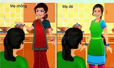 7 điểm khác biệt giữa mẹ đẻ và mẹ chồng