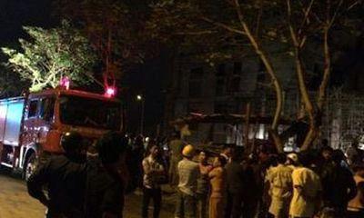 Vụ sập giàn giáo ở Đà Nẵng: Tạm dừng thi công toà nhà Alphanam