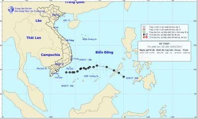 Dự báo thời tiết hôm nay 16/1: Áp thấp suy yếu, Nam Bộ mưa dông