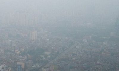 Năm 2016, Hà Nội có 282 ngày ô nhiễm không khí