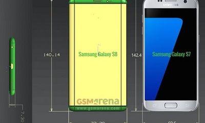 Hé lộ tính năng bí ẩn trên Samsung Galaxy S8