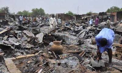 170 người thương vong sau trận không kích nhầm của quân đội Nigeria