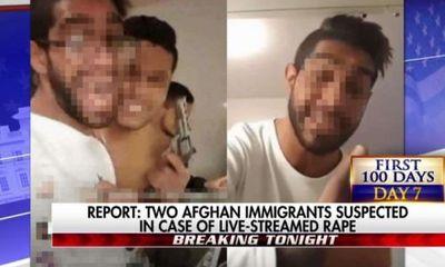 Thụy Điển bắt hai người nhập cư Afghanistan hiếp dâm tập thể live stream
