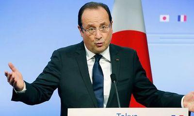 Tổng thống Pháp mong muốn châu Âu cứng rắn với Trump