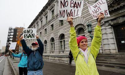 Mỹ: Tòa án nghe tranh luận về lệnh cấm nhập cư của Donald Trump