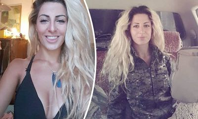 Nữ sinh Đan Mạch nóng bỏng tiêu diệt 100 phiến quân IS