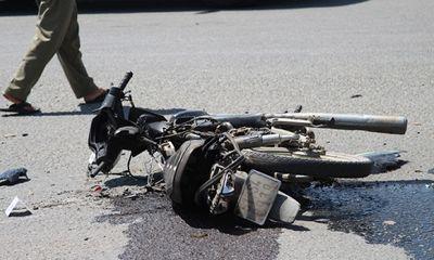 Xe ben cán xe máy ở vòng xoay tử thần, 1 người tử vong tại chỗ
