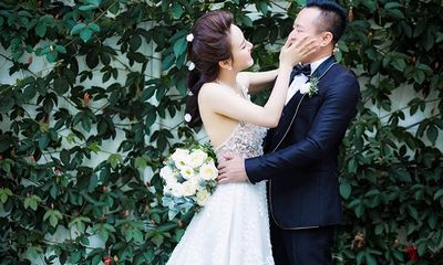 Vy Oanh lần đầu công khai ảnh cưới với đại gia nhân ngày Valentine