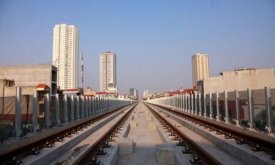 12 đoàn tàu đường sắt Cát Linh - Hà Đông được bàn giao trong năm nay