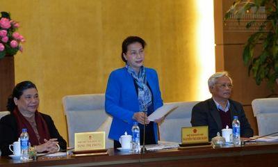 Khai mạc phiên họp thứ 7 Ủy ban Thường vụ Quốc hội