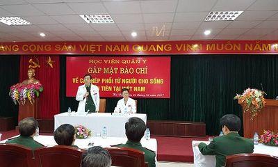 Lần đầu tiên ca ghép phổi từ người cho sống thành công tại Việt Nam