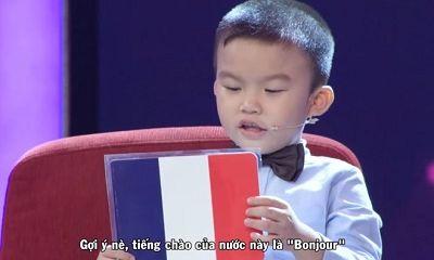 Cậu bé 4 tuổi đọc vanh vách tên nhiều quốc gia trên thế giới