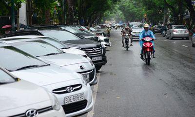 Hà Nội thí điểm dừng đỗ xe thông minh tại quận Hoàn Kiếm