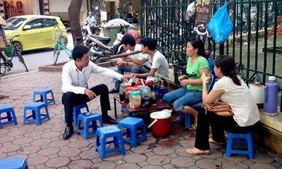 Một quận trung tâm Hà Nội có 333 quán trà đá vỉa hè