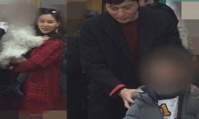 Tài tử Jang Dong Gun lần đầu lộ diện cùng vợ và hai con