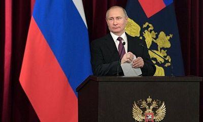 Putin bất ngờ sa thải 10 tướng lĩnh không rõ nguyên nhân