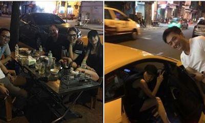 Cường Đô La lái siêu xe đưa Hồ Ngọc Hà đi ăn đêm gây xôn xao