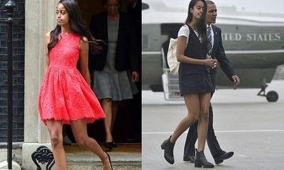 Con gái Obama hé lộ lý do từ chối lời mời từ nhiều công ty người mẫu danh tiếng