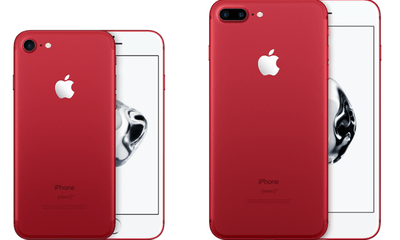 Apple bất ngờ ra mắt iPhone 7 và 7 Plus phiên bản màu đỏ rực, giá không đổi