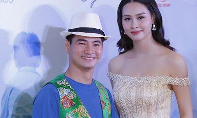 Hoa hậu Biển Thùy Trang xinh đẹp duyên dáng hội ngộ Xuân Bắc