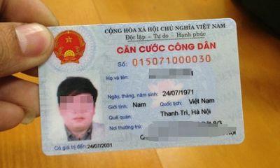 Bộ Công an hướng dẫn thủ tục cấp, đổi thẻ Căn cước công dân