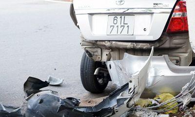 Gây tai nạn liên hoàn rồi bỏ chạy, ô tô Range Rover bị