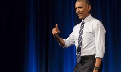 Cựu Tổng thống Obama sắp có bài phát biểu đầu tiên sau khi rời Nhà Trắng