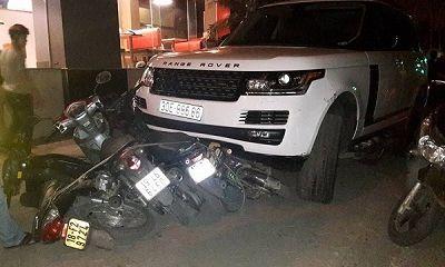 Hà Nội: Xác minh thông tin thanh niên cướp xe Range Rover rồi bỏ chạy, gây tai nạn liên hoàn