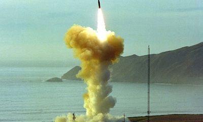 Mỹ bất ngờ phóng thử tên lửa đạn đạo xuyên lục địa