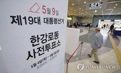 Người dân Hàn Quốc đi bỏ phiếu sớm bầu cử tổng thống