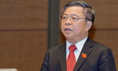Thường vụ Quốc hội sẽ thảo luận về thôi làm đại biểu Quốc hội với ông Võ Kim Cự