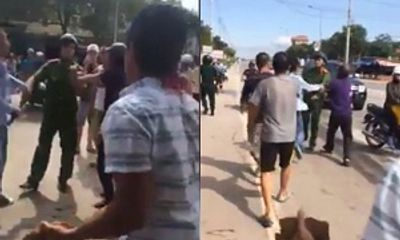 Công an thông tin nguyên nhân hai thanh niên tấn công cảnh sát ở Quảng Ninh