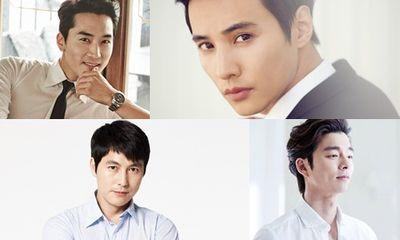 Những mỹ nam quyến rũ nhất showbiz Hàn dù đã ngoài 30