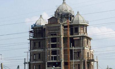 Lãnh đạo khu đô thị Phú Lương- Hà Đông ngang nhiên xây biệt thự không phép